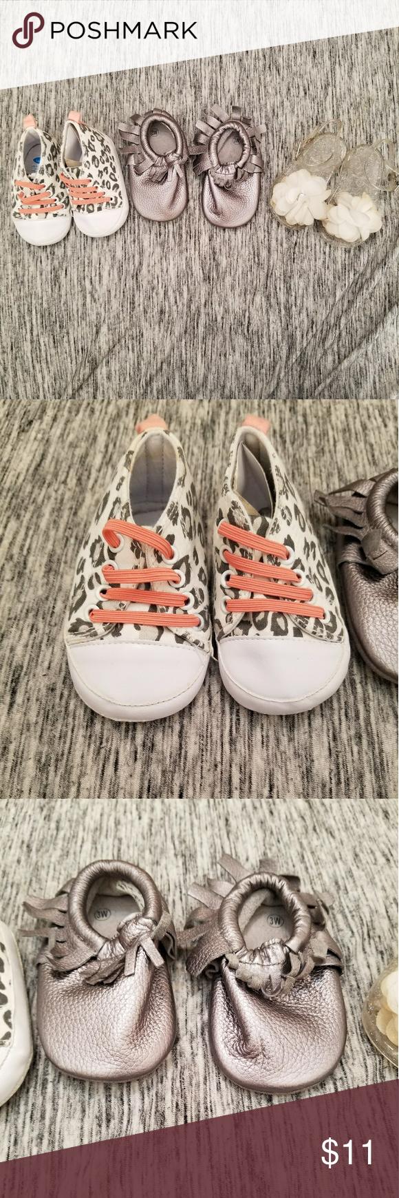 0923653b88 3 Pack Shoe Bundle Babygirl Size 3 Bon Bebe Shoes Slippers | My Posh ...