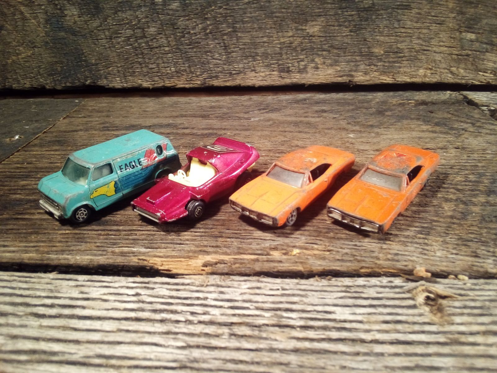 4 Vintage Die Cast 1 64 Scale Cars Mercari Diecast Antiques Toy Car