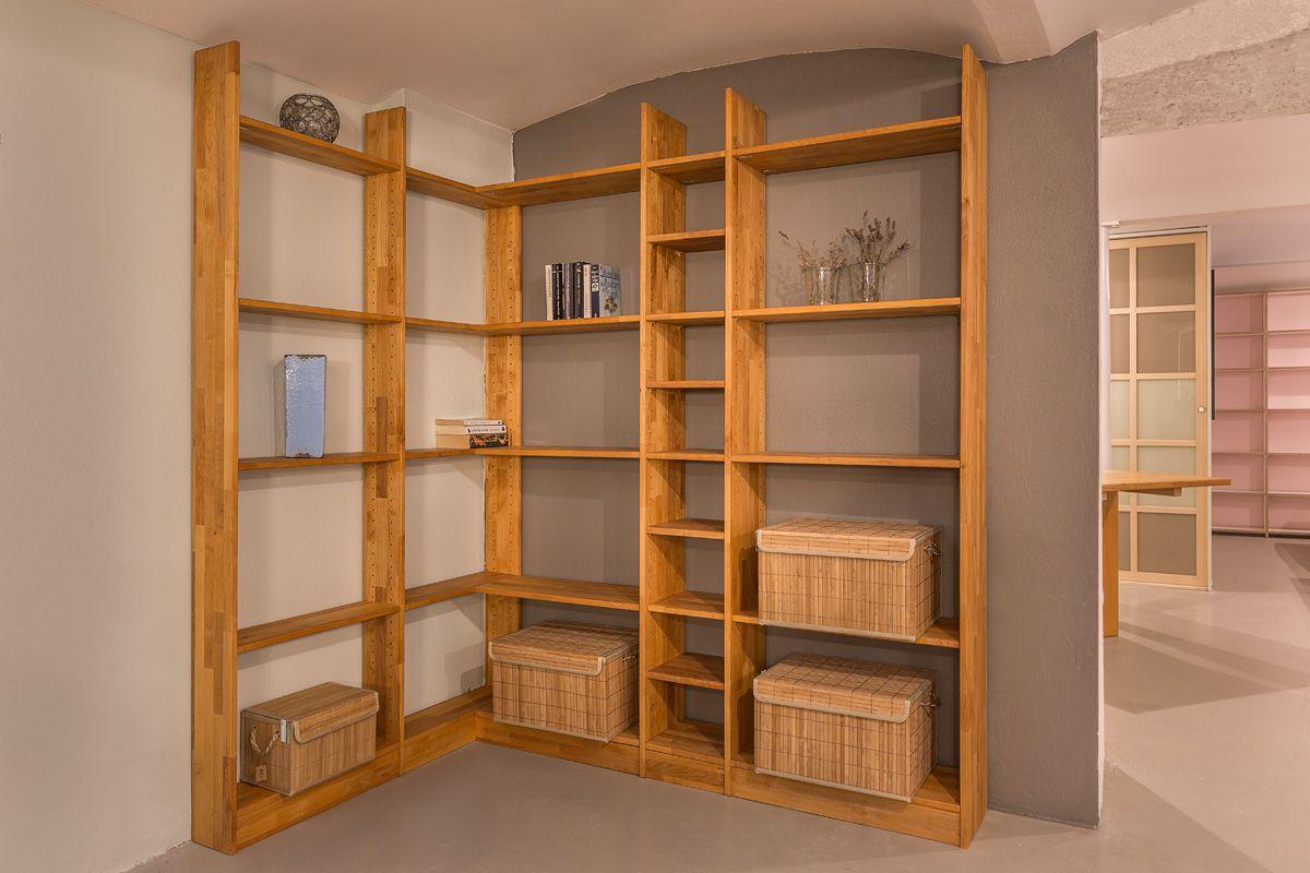 Galerie Inlignum Mobel Eckregal Holz Eckregal Regal