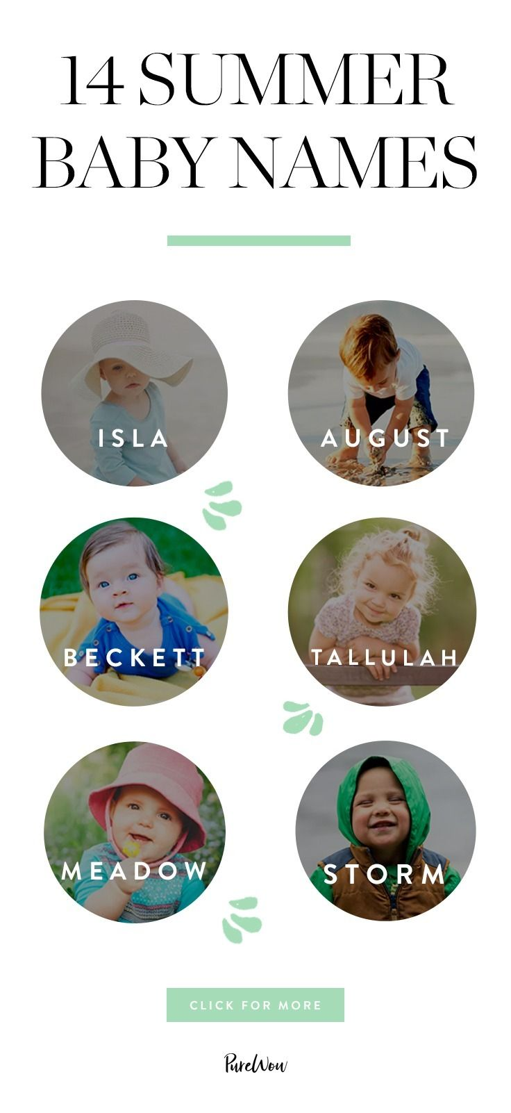 14 Summer Baby Names for Your Little Ray of Sunshine ...