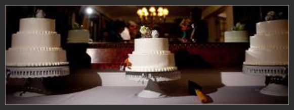 d.i.y. black market wedding cakes
