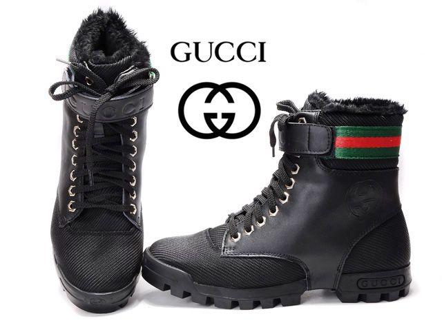 267414e0f Gucci AAAA High Top Mens Shoes sale black | Gucci mens high shoes ...