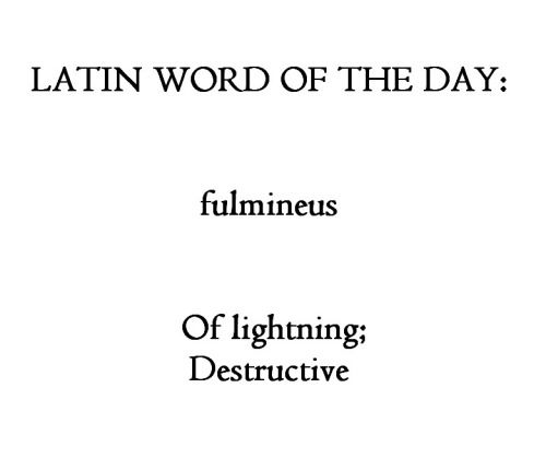Fulmineus
