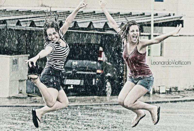 Rain jump by leonardoviotti.deviantart.com on @deviantART