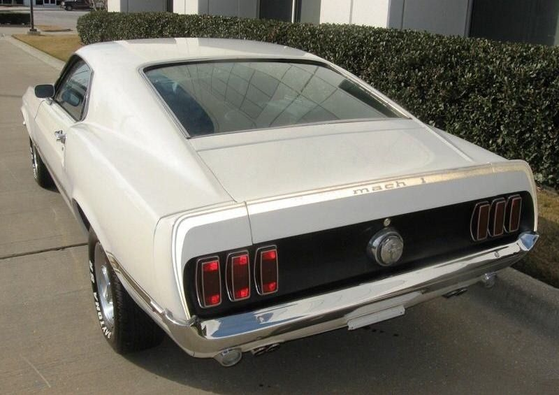 Image Detail For Wimbledon White 1969 Mach 1 Ford Mustang