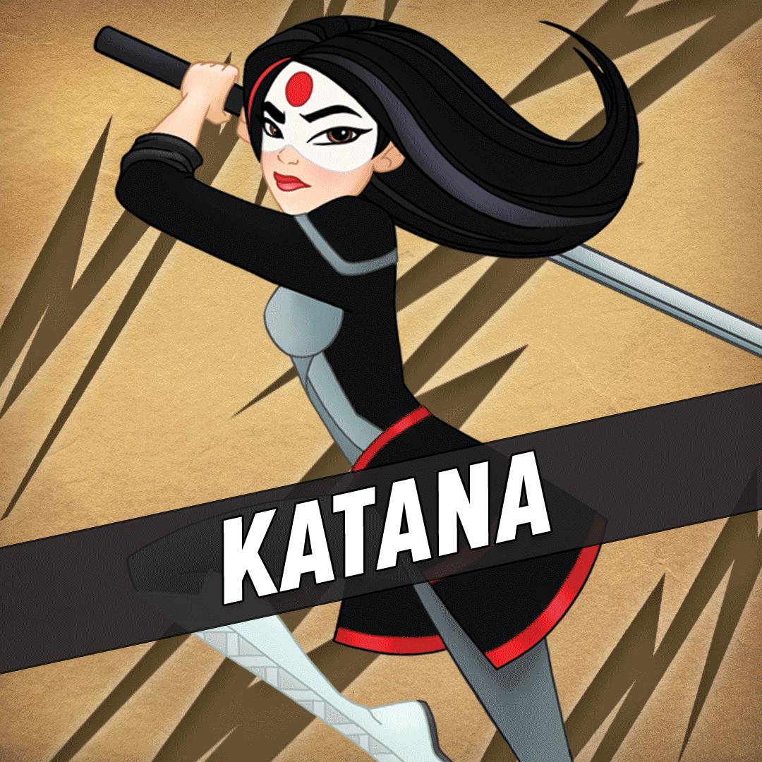 Картинки катана супергерой
