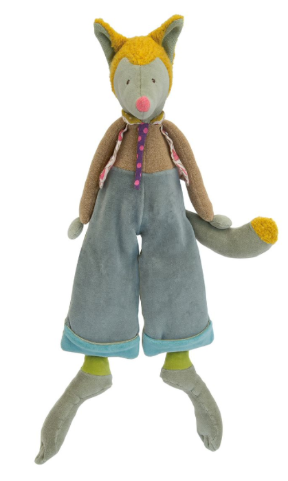 les tartempois, doudou, peluches, moulin roty, loulou