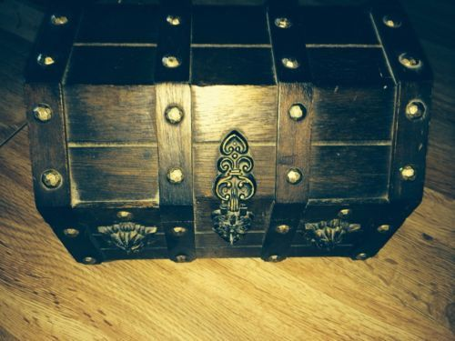 Vintage Pirate Treasure Chest