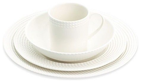 Juliska Bamboo 5-Piece Place Setting - $ 149.00 » Juliska\u0027s new Bamboo pattern gives the white ceramic a kick. | My Cup Runneth Over.  sc 1 st  Pinterest & Juliska Bamboo 5-Piece Place Setting - $ 149.00 » Juliska\u0027s new ...