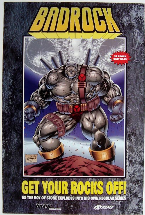 Badrock by Liefeld Rob Liefeld Hate Him or Love Him Pinterest - missing in action poster