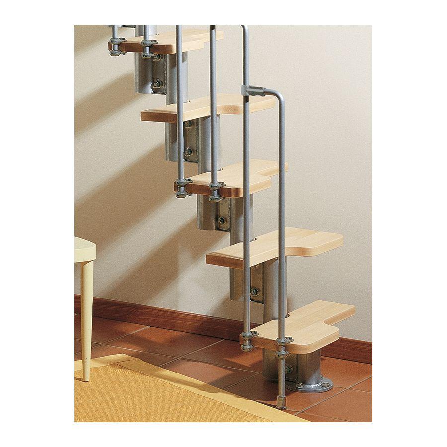 Shop Arke Karina x 9.25ft Gray Modular Staircase Kit at