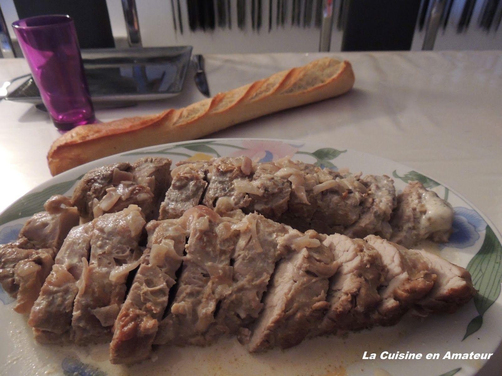 La cuisine en amateur de Maryline: Filet mignon à la crème et  moutarde