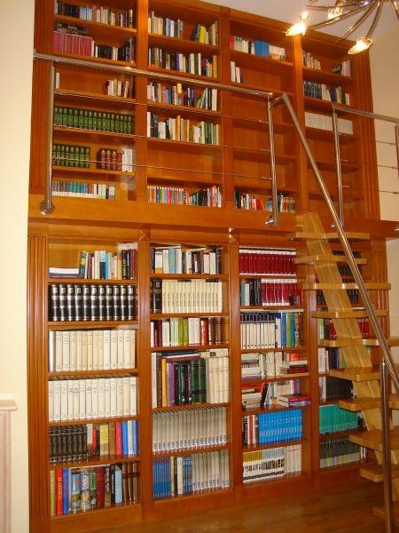 Libreria dos alturas y escalera EBANISTA ESPAÑOL