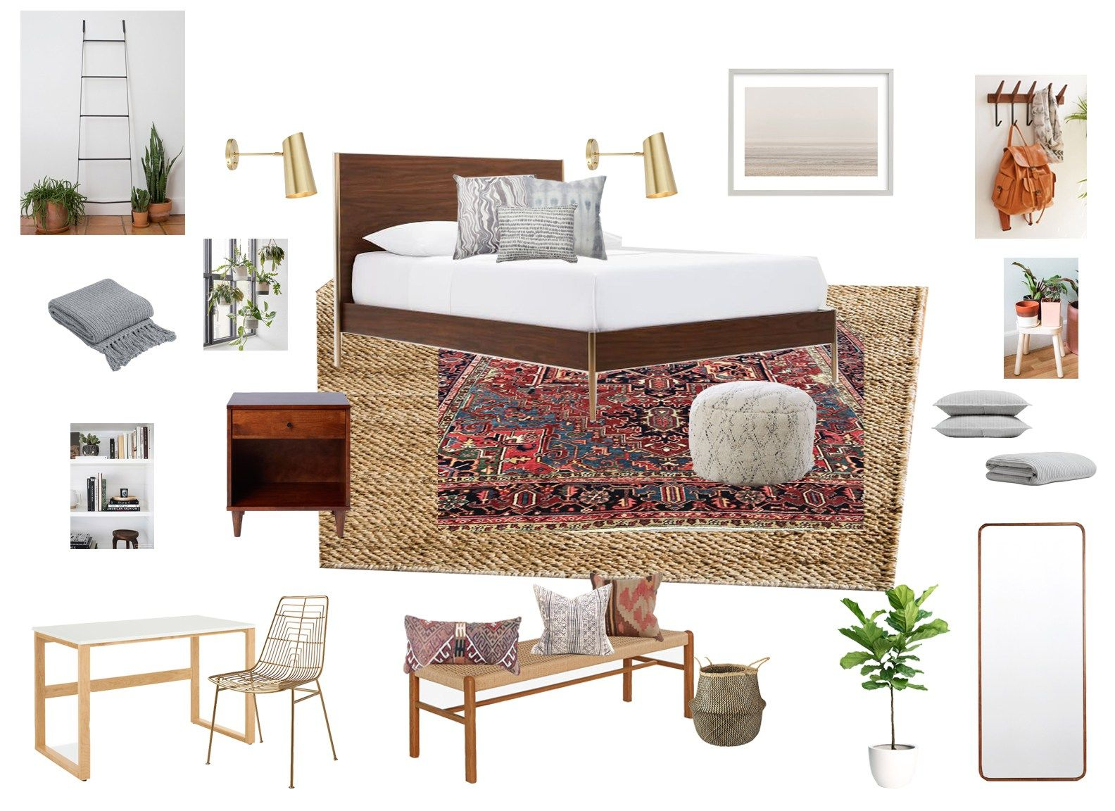 Best California Casual Master Bedroom Makeover Eclectic 400 x 300