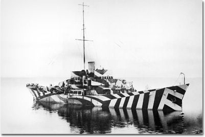 11 Old War Photographs You Won't Believe Aren't Photoshopped | Dazzle Camouflage