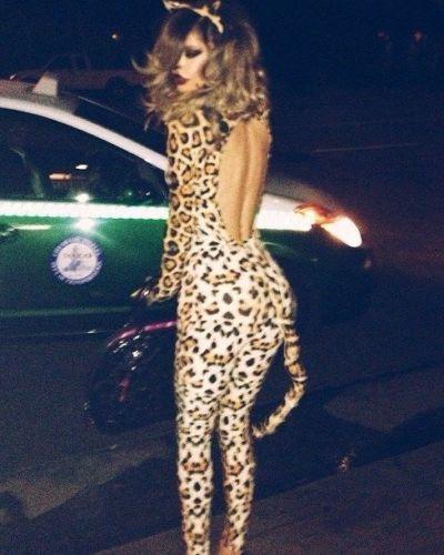 Leg avenue  cougar sexy  fancy  dress leopard catsuit set halloween rrp £47 0c4fd16d0