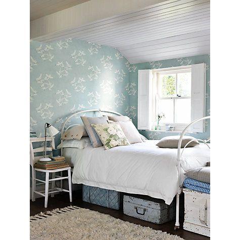 Sanderson Seagulls Wallpaper, Eau, DVIN214586 | Wallpaper online ...