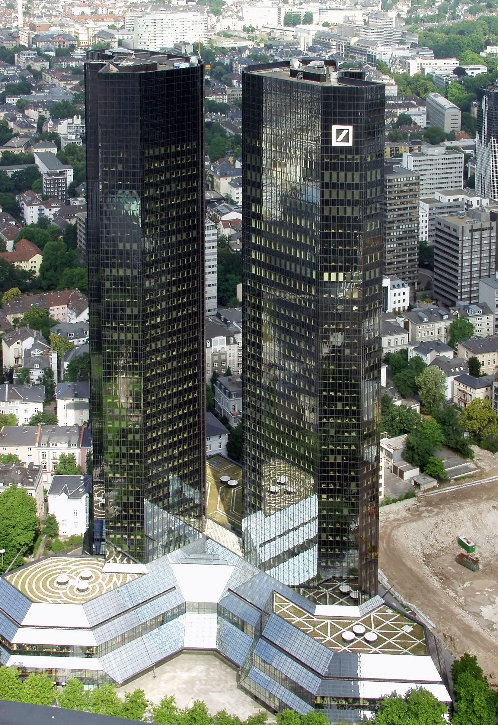 Deutsche Bank FrankfurtamMain. Image of German banking