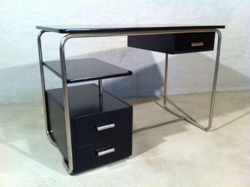 Stahlrohr Schreibtisch Schreibtisch Bauhaus Stahlrohr