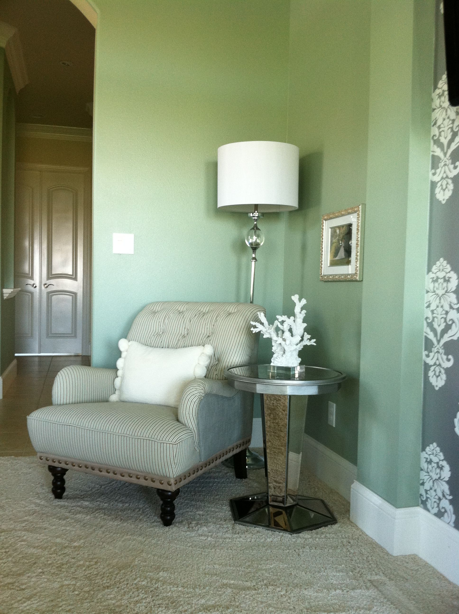 Miraculous Sitting Area In Bedroom Corner Serena Floor Lamp Chas Theyellowbook Wood Chair Design Ideas Theyellowbookinfo