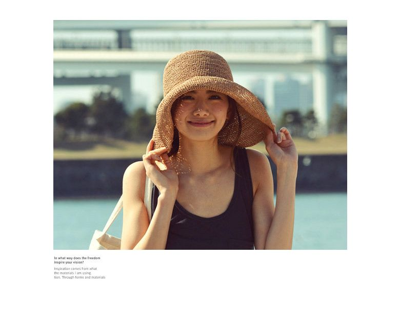06b662f2b4b04 【楽天市場】ラフィアハット レディース 帽子/紐付き PATRICIA 折りたたみ/折り畳み/紫外線