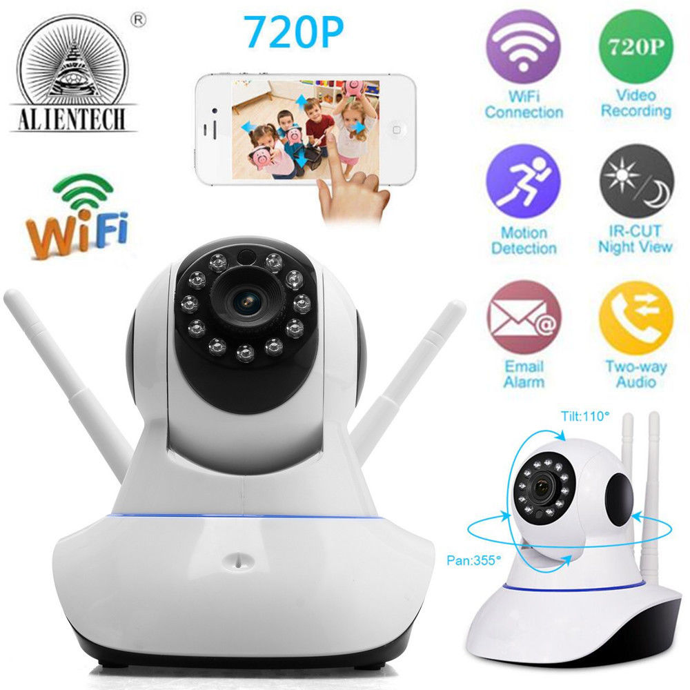 Home Security Ip Camera Wireless Smart Wifi Baby Monitor