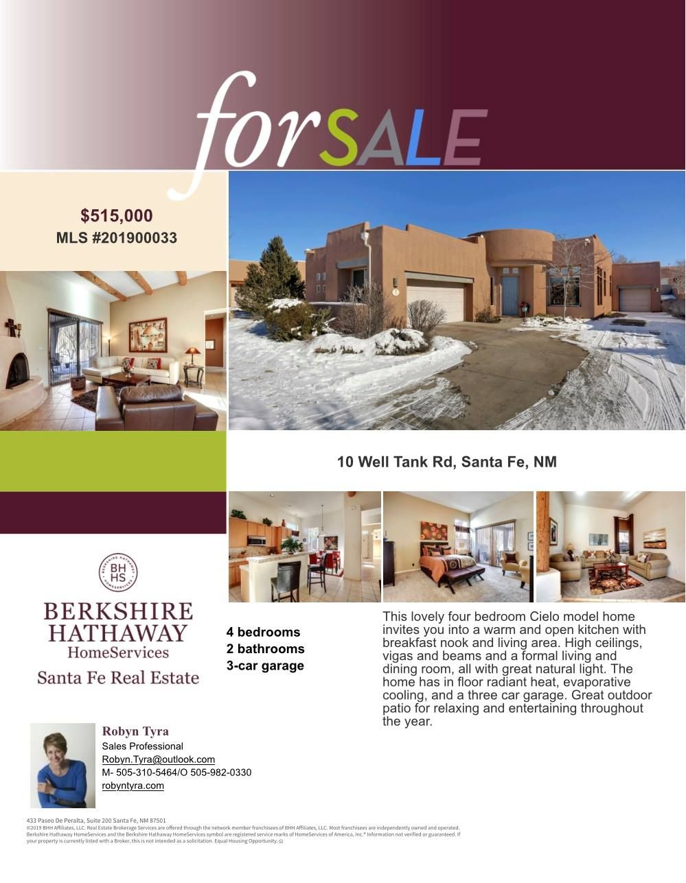 10 Well Tank Road Santa Fe Nm This Lovely Four Bedroom Cielo
