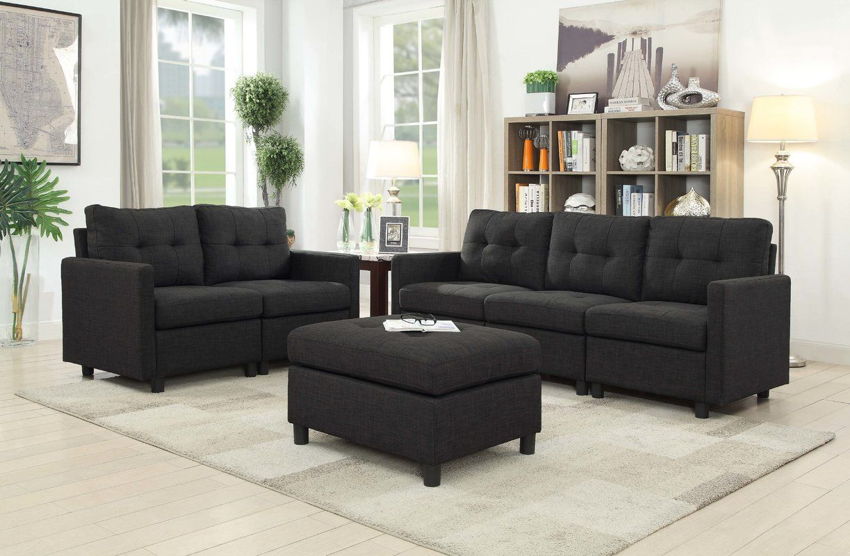 Wetherby 3 Piece Living Room Set With Images 3 Piece Living