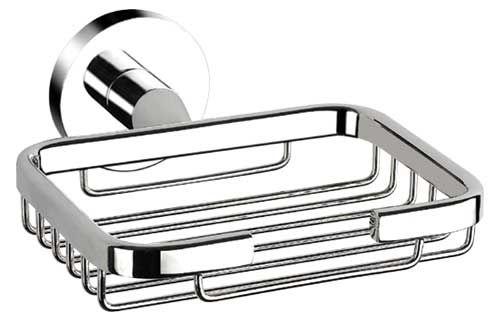 Chrome Wire Shower Soap Basket 8769