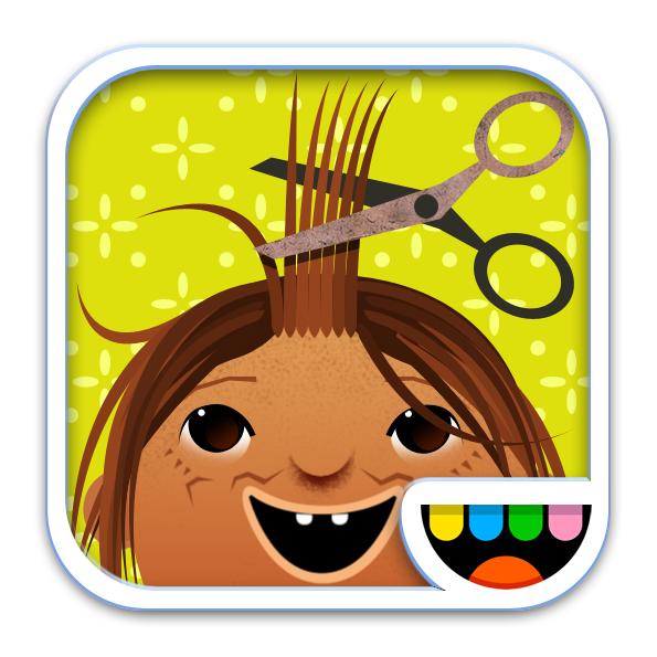 Toca Hair Salon icon by Toca Boca.