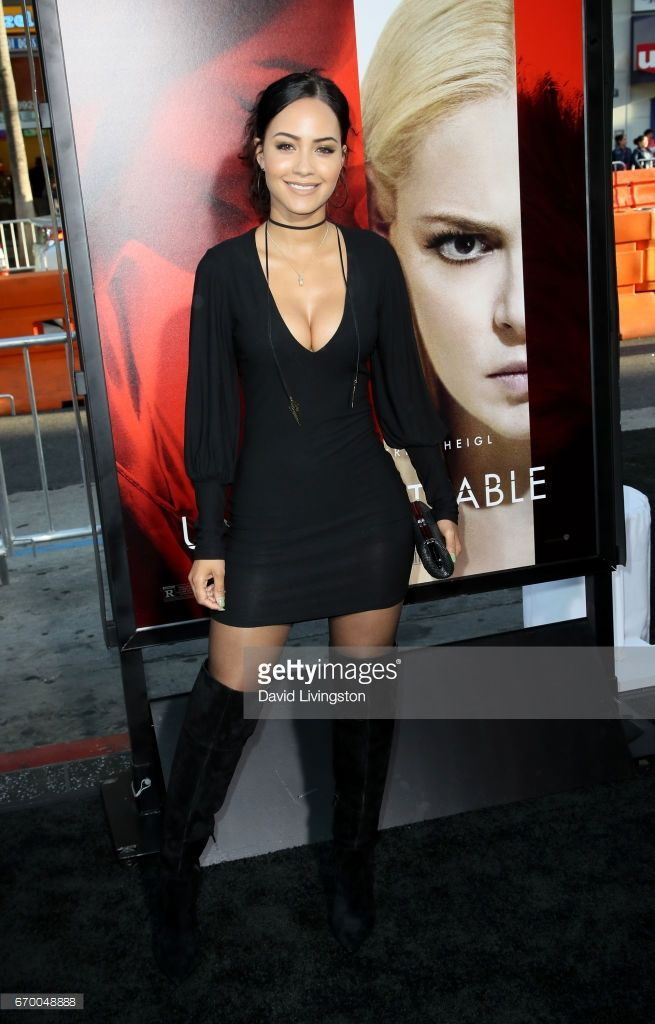 Actress Tristin Mays attends the premiere of Warner Bros. Pictures'  'Unforgettable' at TCL Chinese Theatre on April 2017 in Hollywood,  California.
