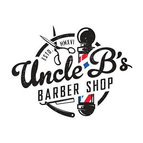 Muitas vezes Logo concept for Uncle B's Barber Shop. | barbers | Pinterest  WR63