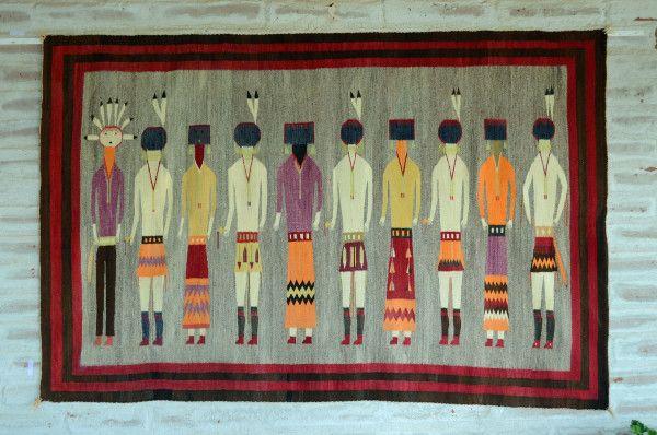 Antique Navajo Rug for Sale