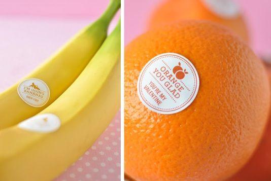 Lovey-dovey fruit!