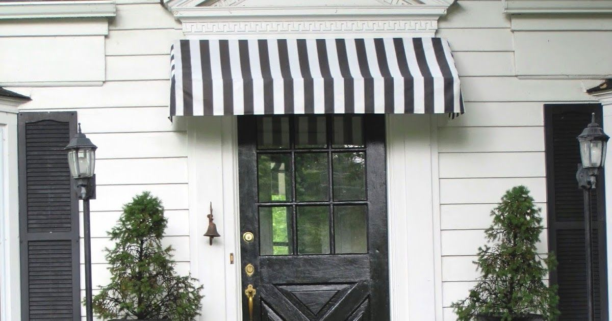 Thanks For All The Awning Love Everyone If You Re Not Into Diy Details And Just Want Pretty Pictures Check Out T With Images Diy Awning Porch Remodel Outdoor Awnings