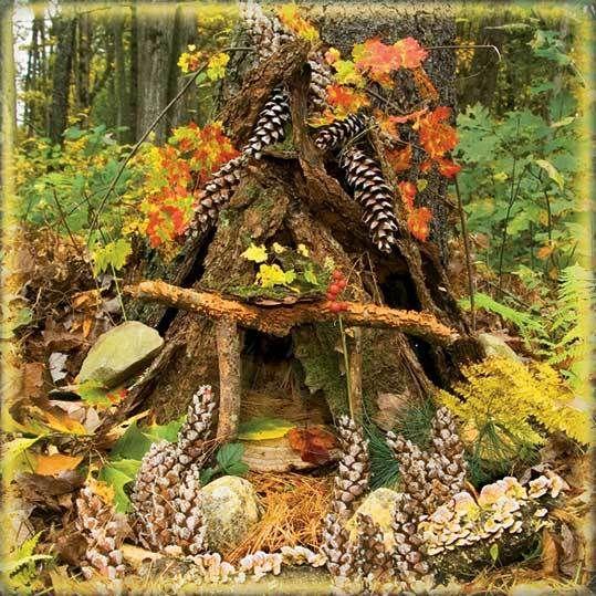 Las casas de hadas son pequeñas estructuras que los humanos construimos en la naturaleza para que los seres feéricos que allí habitan las ...