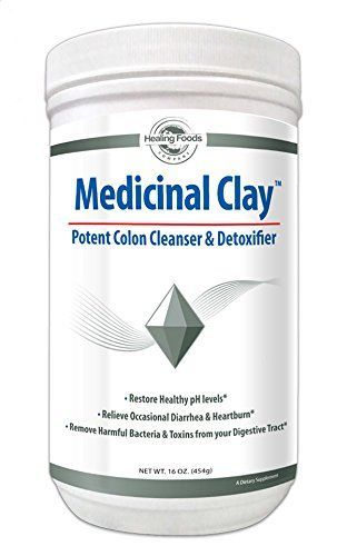 Medicinal Clay Bentonite Colon Cleanse and Gut Detox Digestive Support Trace Mineral Supplement Safe Gentle Formula Facial MaskAcne Treatment NONGmo Gluten Free No Heavy Metals >>> BEST VALUE BUY on Amazon #NaturalCleanse #TurmericWaterForWeightLoss