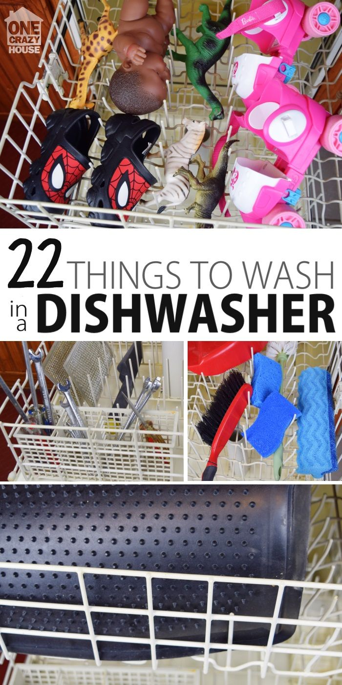 Things to Wash in the Dishwasher