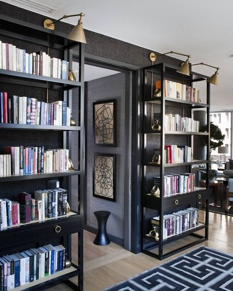 20 Home Office Bookshelves Designs Ideas: Bookcases Make The Room! Home Decor And Interior
