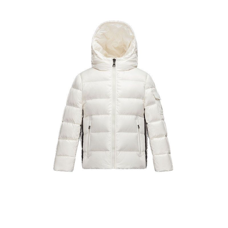 Kids Moncler Cream Berenger Down Jacket   Discounts→Down Jackets ... 932b422527f