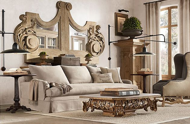 Restoration hardware living room restoration hardware - Restoration hardware living room ideas ...