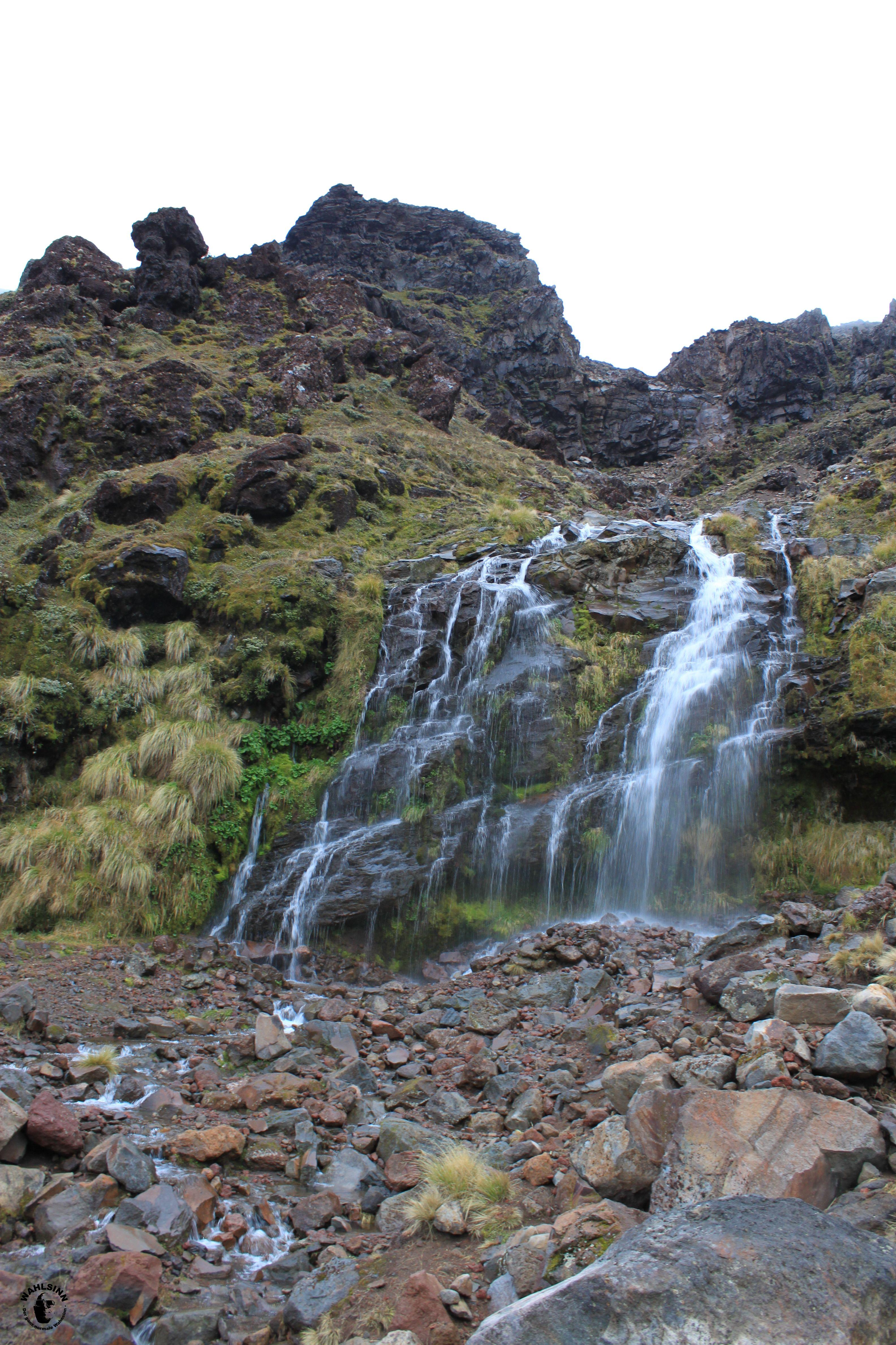 Erster Wegpunkt zum Mount Doom // Der Einsame Berg // Der Schicksalsberg (Neuseeland)