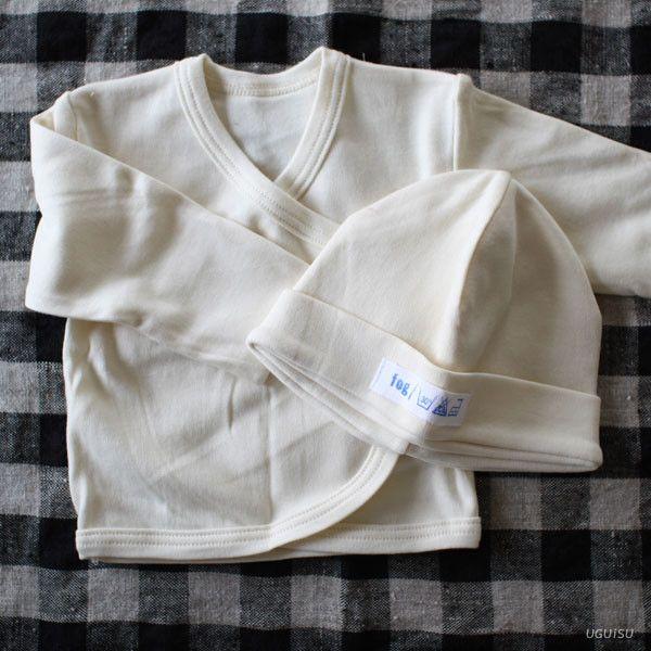 d4967c4de6 fog linen work Organic Cotton Baby Cap   Cardigan