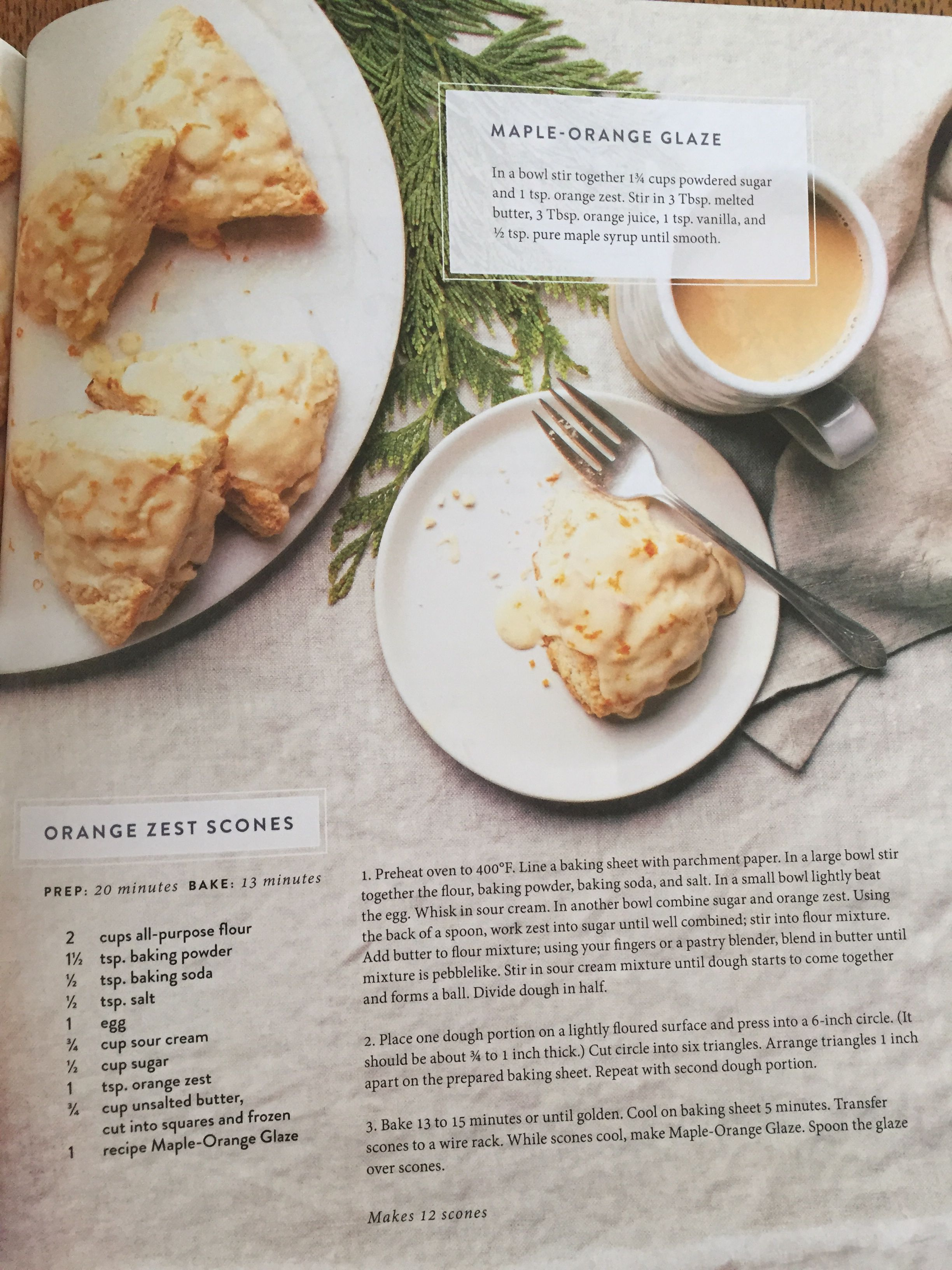 scones 1 portion