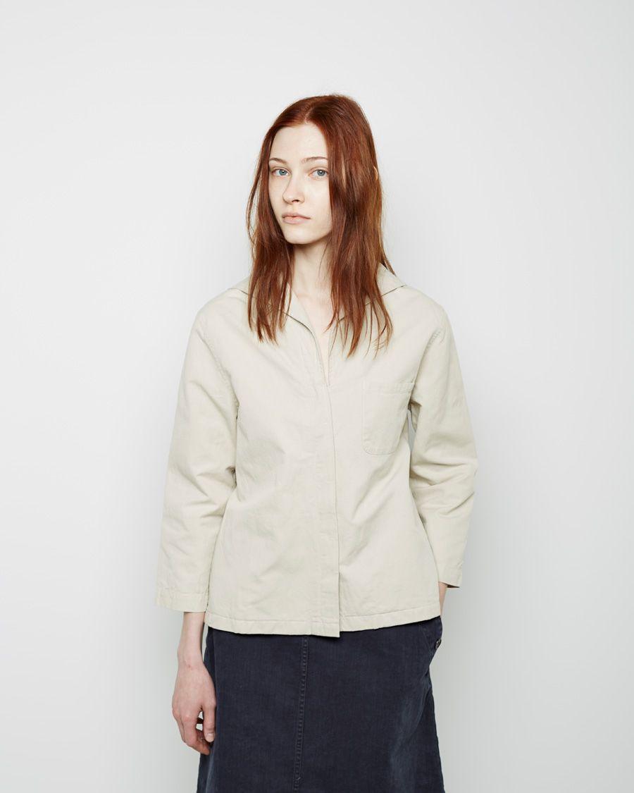 MHL+by+Margaret+Howell++Sailor+Shirt   La Garçonne
