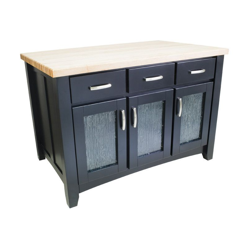 Best Jeffrey Alexander Isl07 Black Kitchen Island 400 x 300