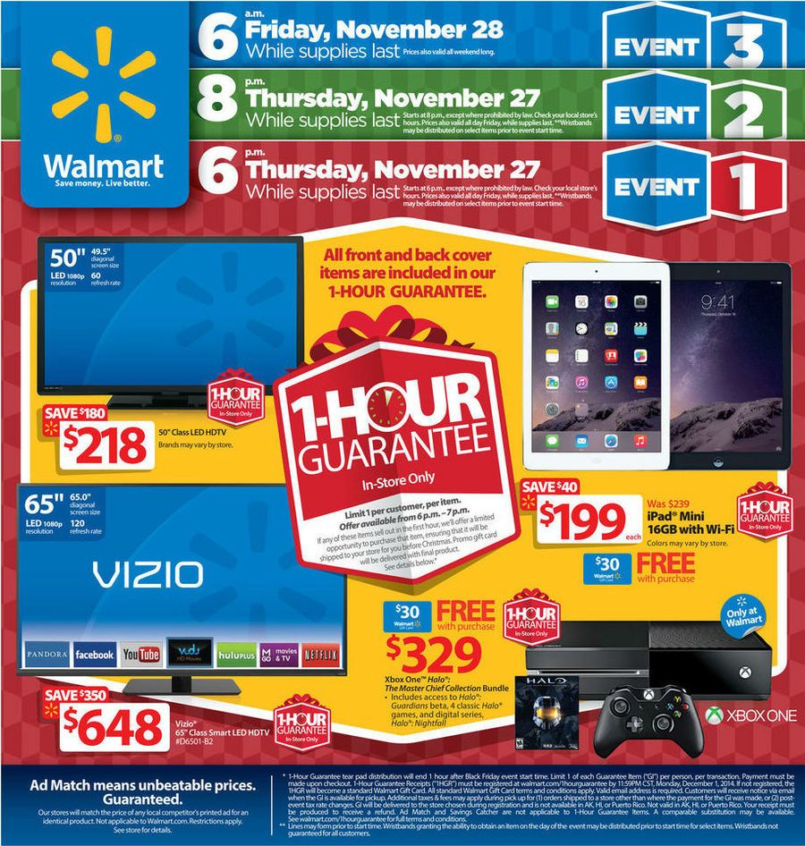 Walmart sale ad for this weekend - See The Walmart Black Friday Ad 2015 For All Sales Specials And Doorbusters Get