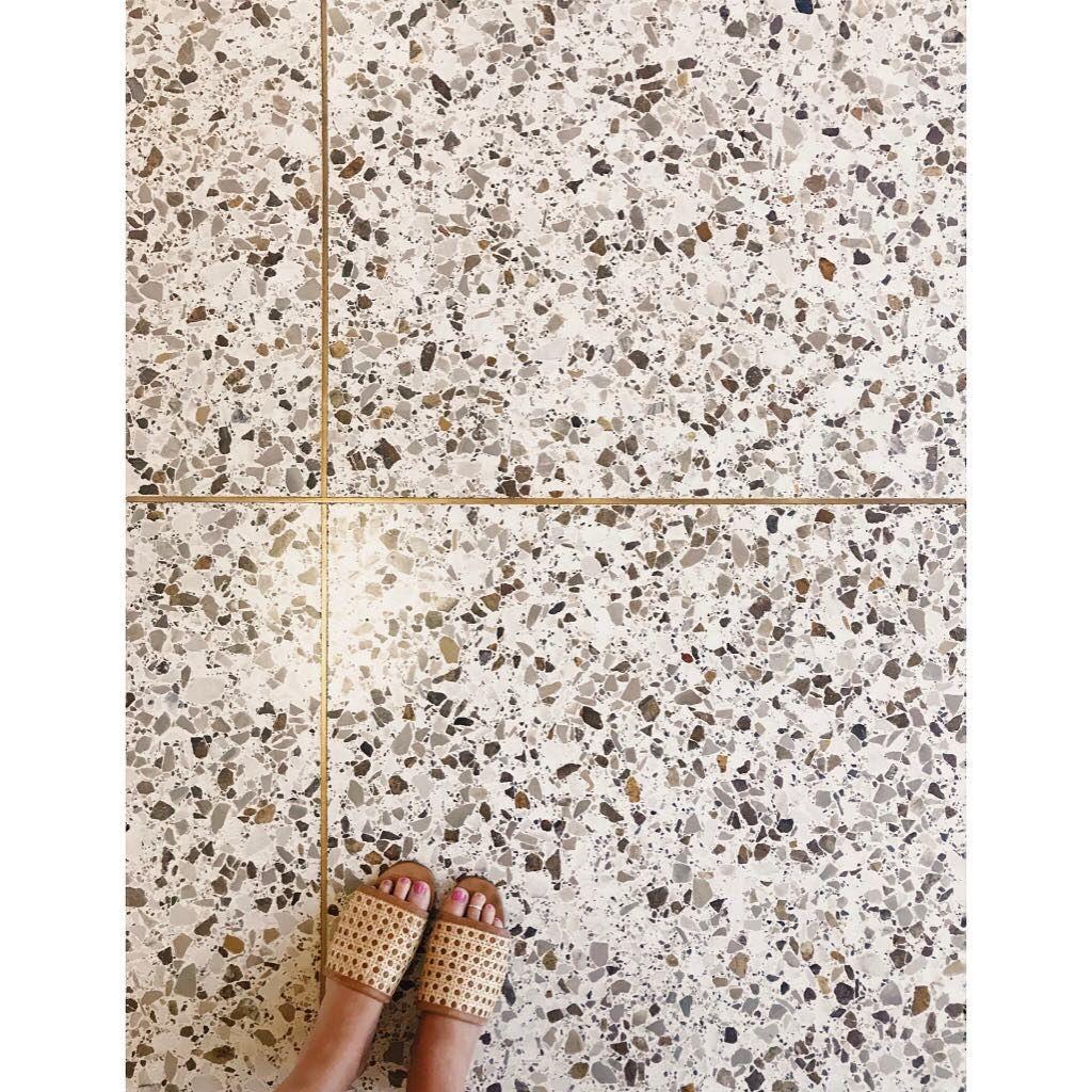 Terrazzo Floor In Newport Beach California Terrazzo