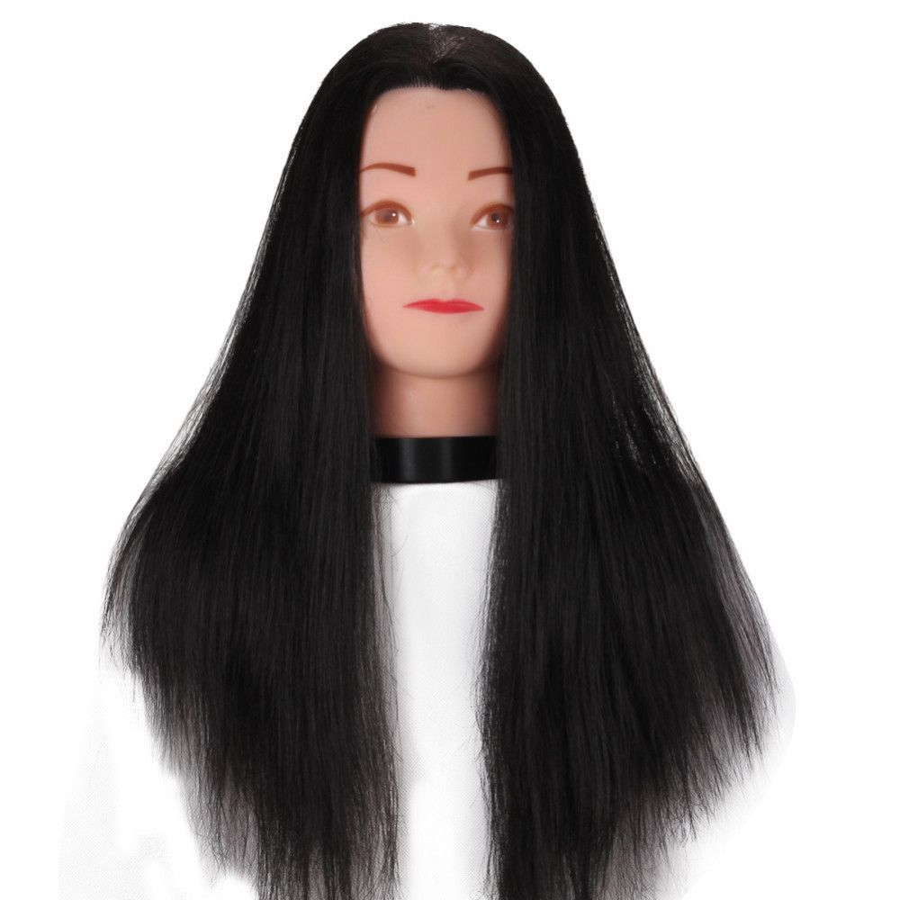 """55cm/22"""" Heat Resistant Synthetic Fiber Hair Styling"""