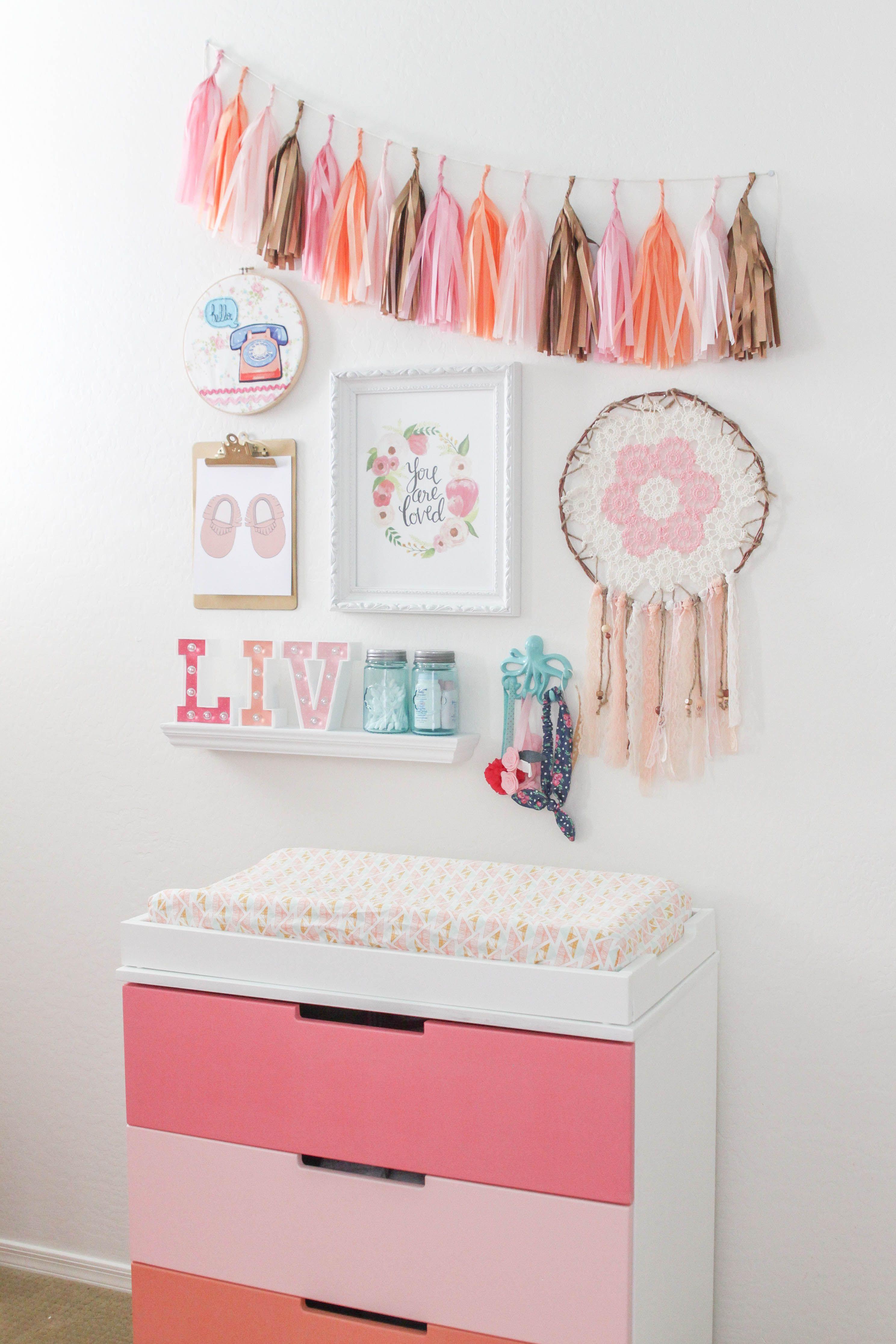 Diy Wall Decor For Baby Girl Nursery